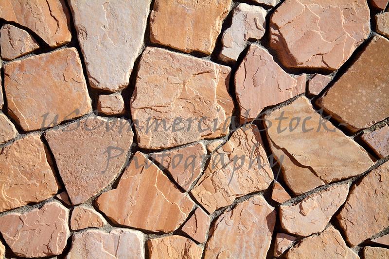 Stone Natural cobble field wall pattern closeup