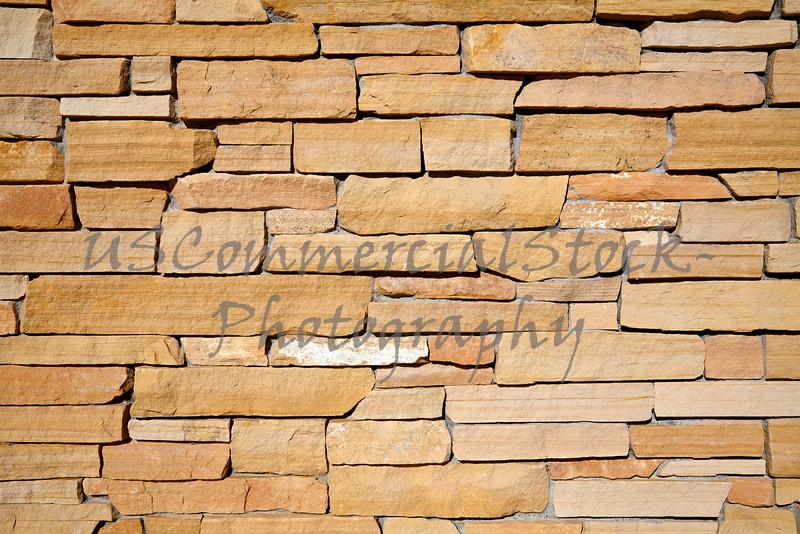 Stone Natural southwest ledge rubble rock wall closeup