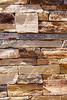 Stone Veneer Natural granite sandstone stacked red rock cliff ledge wall closeup