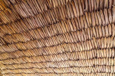 Background, texture, raffia palm ceiling, Jamaica, caribbean,
