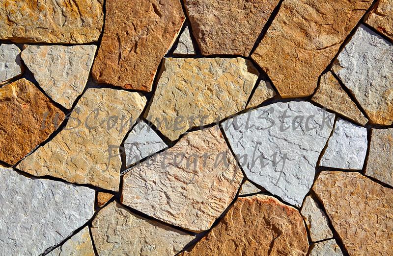Stone Natural Fieldstone wall closeup texture pattern