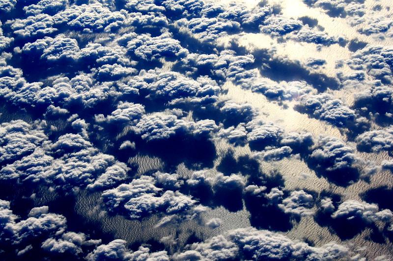 Pacific Ocean, Clouds, Baja, California