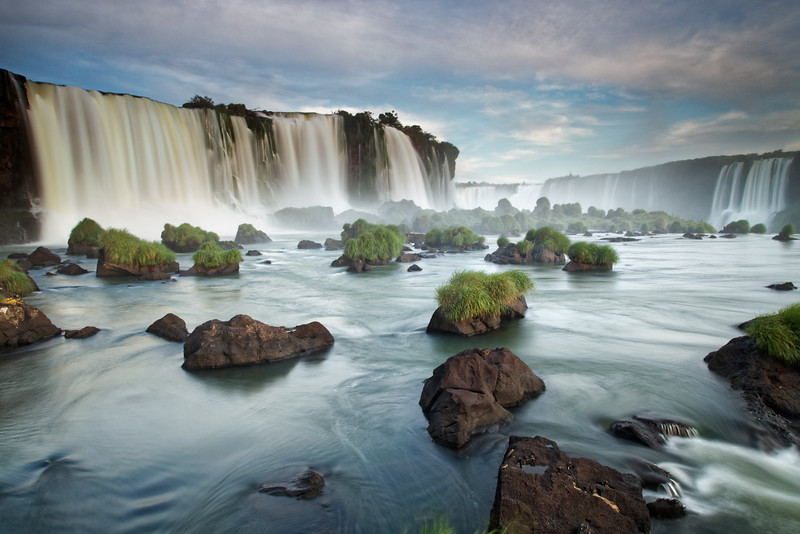 Floriano Falls at Iguazu Falls in Brazil