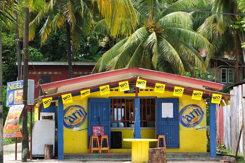 Bar at Maracas Beach, Trinidad