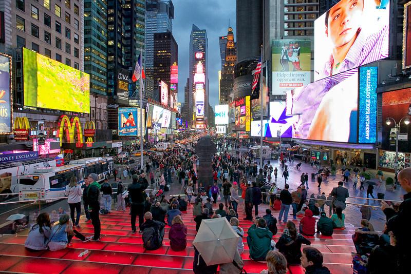 Times Square Steps