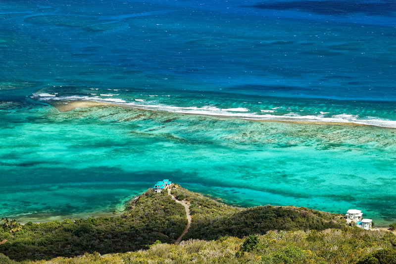 Dog Bay, View from Gorda Peak National Park, Virgin Gorda, British Virgin Islands