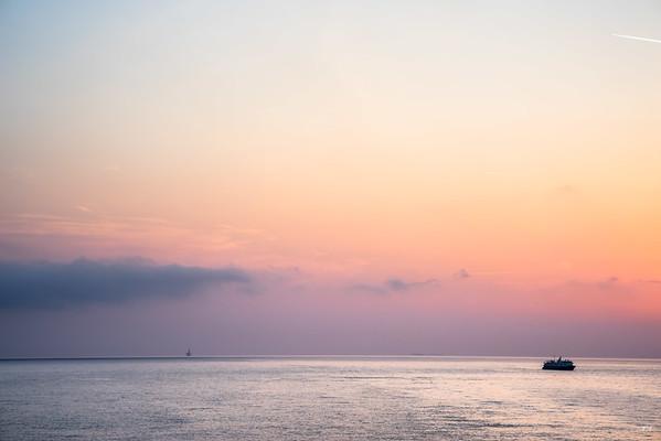 Early at sea
