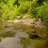 A hidden view of Wildcat Falls.