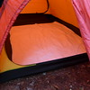 The inside ground cloth for the Hilleberg tent.