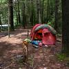 Black Cave Camp on Bald River.