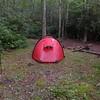My Hilleberg tent in Camp 6-7 aka Bearpen Camp on Snowbird Creek.