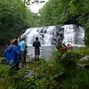 Ohio State freshmen visit Middle Falls.