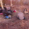 Frank Norton's Cranberry group sets up camp on the Bob and Sgt Rock shares BMT info with Frank.