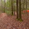 Cascade Winter Camp before the rain.