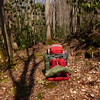 My Mystery Ranch G7000 pack somewhere on the Grassy Branch trail.
