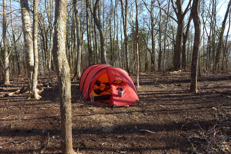 Toad Camp on Haoe Ridge!!