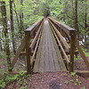The North Fork footbridge.