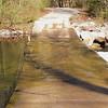 Warden's Field low water bridge.