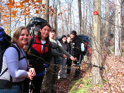Freshmen Leadership Experience Backpacking 11-07