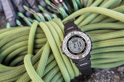 Backpacker Magazine Advertorial for Casio Protrek Watches, for the July 2016 issue