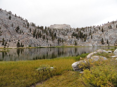 Lower Soldier Lake (10,850); Sequoia-Kings Canyon Wilderness, Sequoia National Park, September 20, 2011.