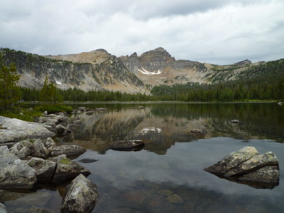 Warren Lake (8,474); Anaconda-Pintler Wilderness, Beaverhead-Dearlodge National Forest, August 6, 2009.