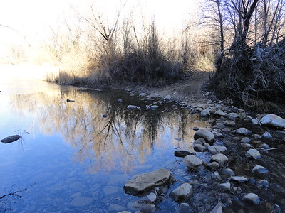 Sespe Creek (at Lion Canyon)(3,000); Los Padres National Forest, January 17, 2013.