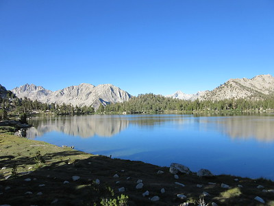 Bullfrog Lake (10,610); John Muir Wilderness, Kings Canyon National Park, July 14, 2015.