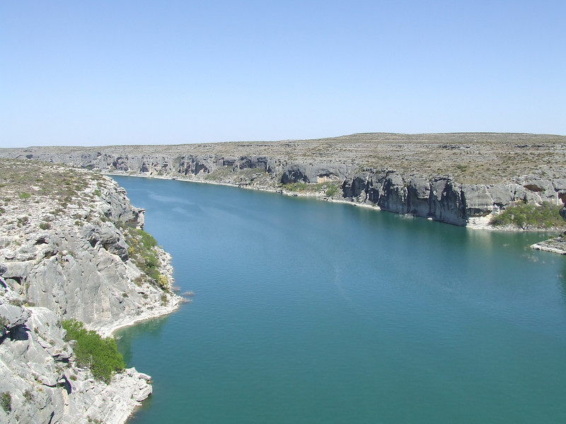 Pecos River on the way to Big Bend.
