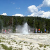 Grand Geyser, is it done?