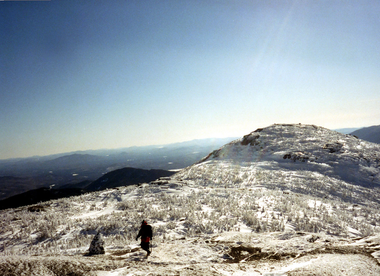 Atop Iroquois Peak.  It never did get much better than that!