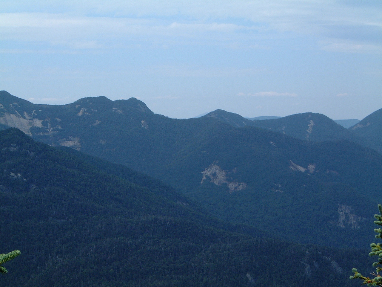 View from Mt. Colvin