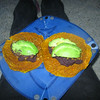 So enjoyed my homemade dehydrated tortillas and black beans and fresh avocado that I packed in. Yum!!!
