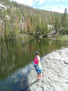 A morning hike around Baker Lake.