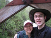 Day 1: On a bridge over a creek. The first half of May is an ideal time to head outdoors in northeastern Minnesota due to lack of bugs.