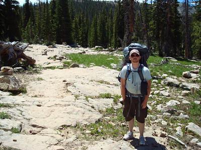 Brandon Hikes the Uintas in Utah - July 2009