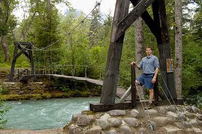 Dion Hatcher, Bridge to Canyon City Chilkoot Trail Canyon City