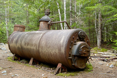 Steam Boiler Chilkoot Trail Canyon City