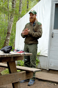 Park Ranger Chilkoot Trail Sheep Camp