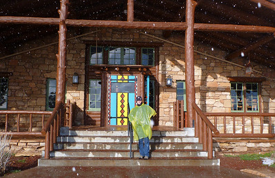 Bright Angel Lodge on the South Rim