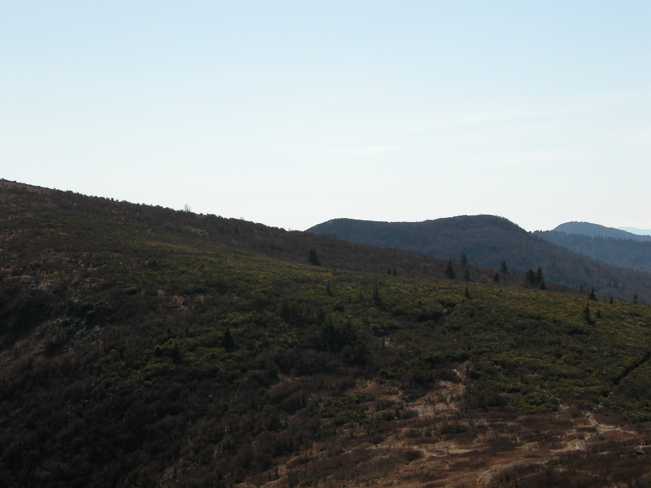 another part of failed attempt at producing a pano from the summit of Tennent. Sam Knob in the background