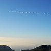 Sky writers at work this morning!