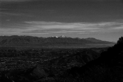 Boney Peak/Sandstone Peak - January 2010