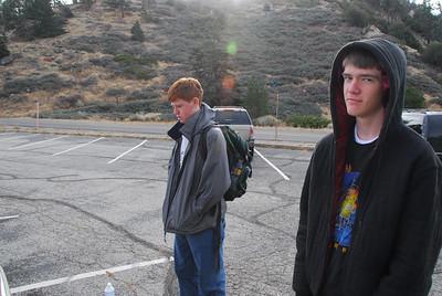 Mt. Hawkins - Middle Hawkins : November 2008