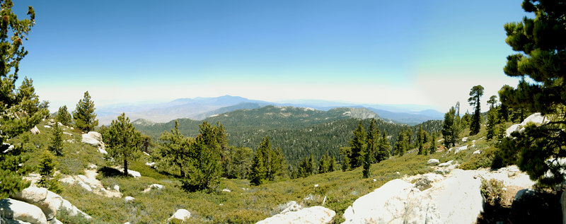 Wellmans Divide Panorama