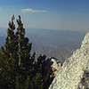 Panorama on top of Mt. San Jacinto (10,834 ft.)