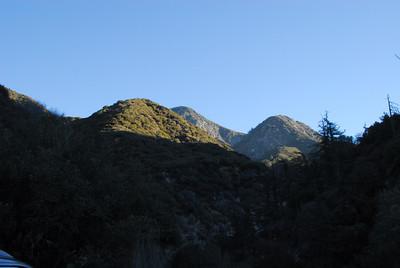 Strawberry Peak (no summit)- December 2007