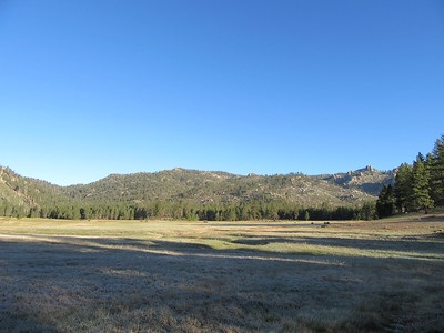 The next morning, Manter Meadow and the mountains looked pristine, and ...