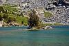 the island in Ruwau Lake...