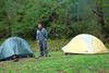 campsite at O'Neil Camp.